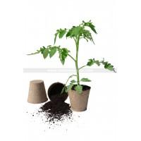Pack de 8 pots biodégradable diam 11cm