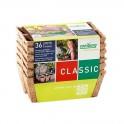 Pack de 36 Pots biodégradables 5 cm, 6 plaques de 6