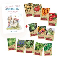 Pack : livre & semences - Agenda