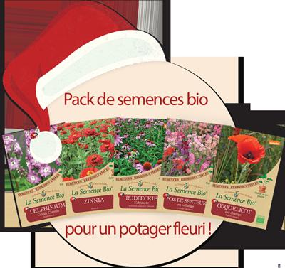 semences de fleurs - potager -semences bio