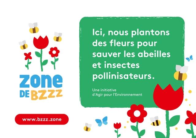 Zone de Bzzz - Agir pour l'environnement - abeilles